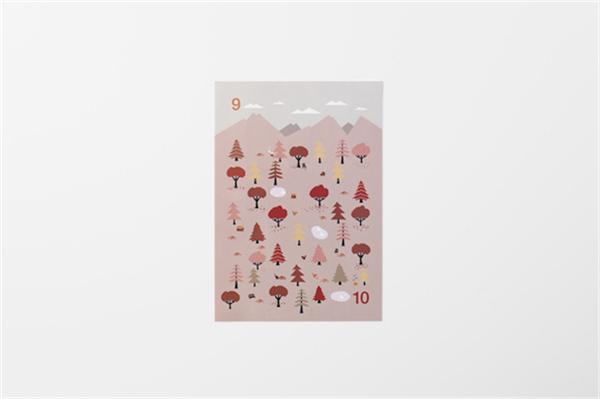 Sticker Calendar 四季日历(十六)