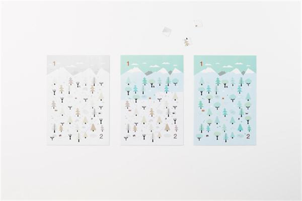 Sticker Calendar 四季日历(十七)