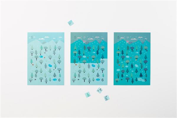 Sticker Calendar 四季日历(十九)