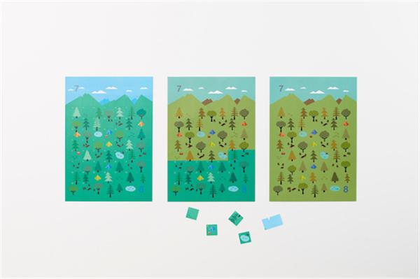 Sticker Calendar 四季日历(二十)