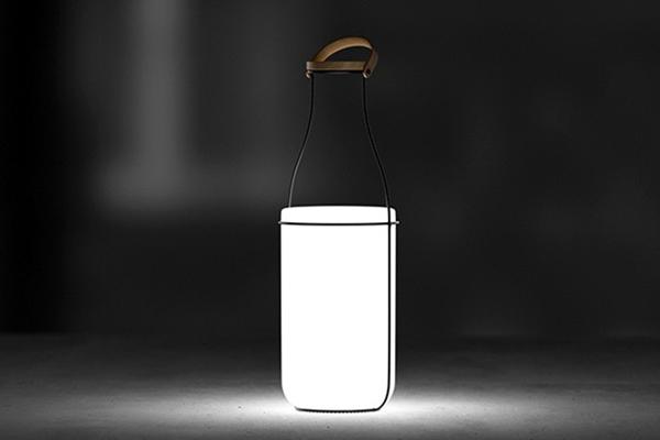 MU Pack 牛奶瓶台灯