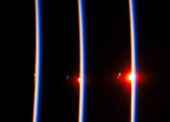 太空看日出日落(九)