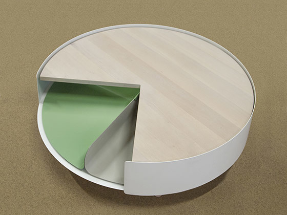 多功能圆饼桌子(二)