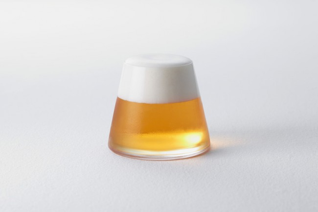 富士山玻璃杯(二)
