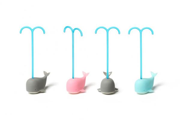 抹茶鲸鱼茶包设计