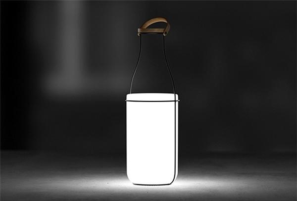 趣味牛奶瓶台灯