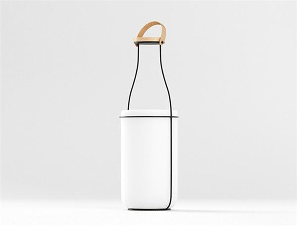 趣味牛奶瓶台灯(二)