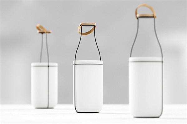 趣味牛奶瓶台灯(四)