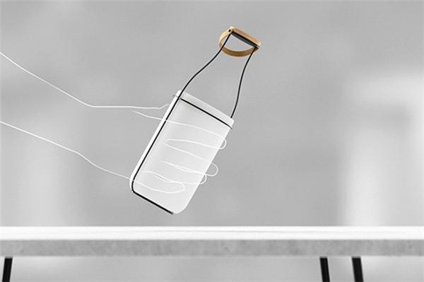 趣味牛奶瓶台灯(五)