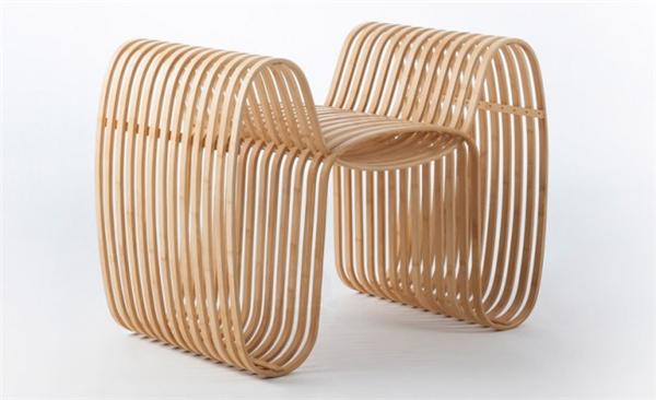 气质领结竹椅设计