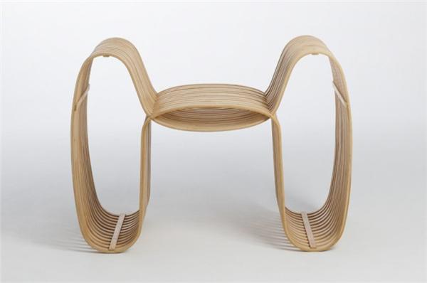 气质领结竹椅设计(二)