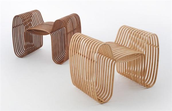 气质领结竹椅设计(三)