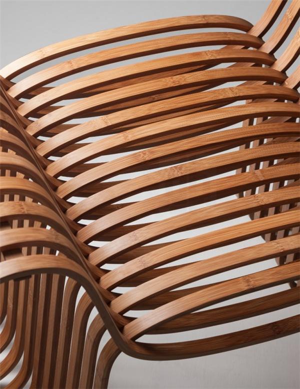气质领结竹椅设计(四)