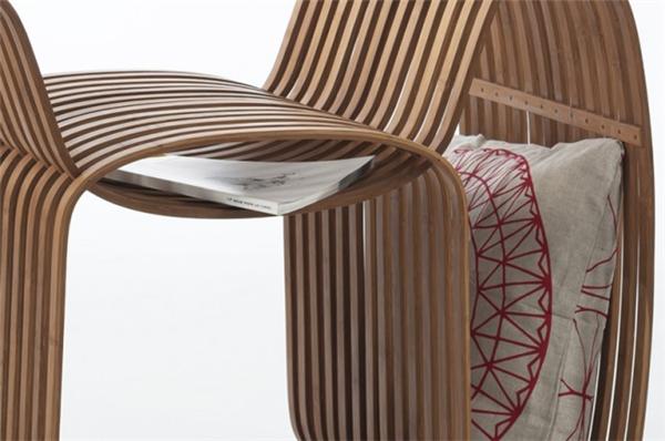 气质领结竹椅设计(五)