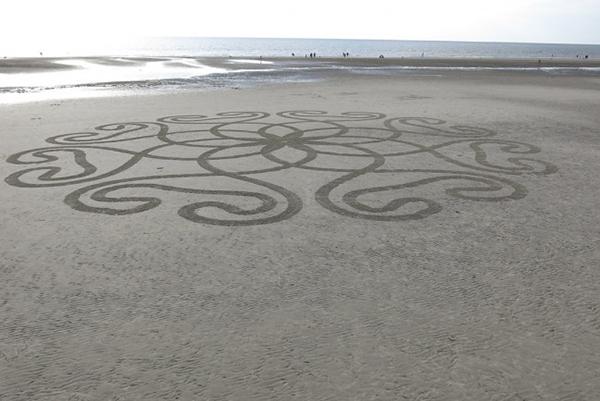 BeachBot 沙画机器人作品(三)