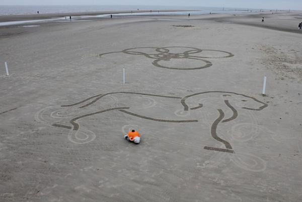 BeachBot 沙画机器人作品(四)