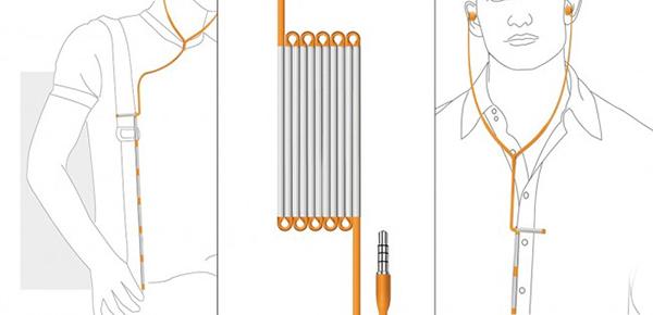 可折叠耳机线(四)