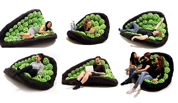 Lullock 花朵座椅(三)