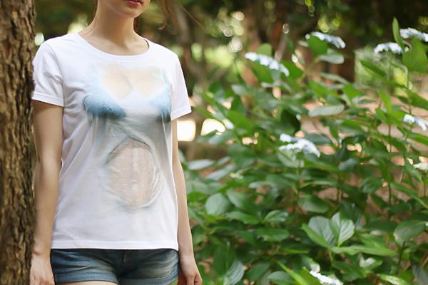 湿身透胸T恤(二)
