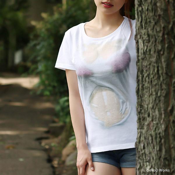 湿身透胸T恤(四)