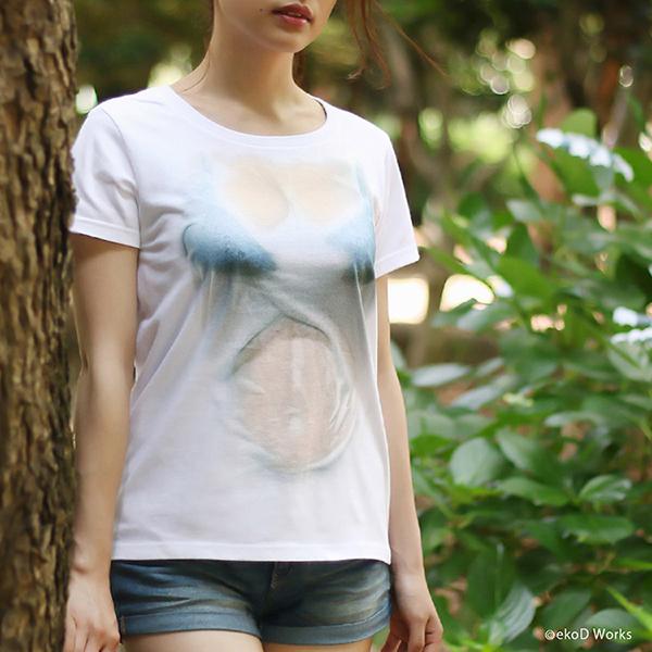 湿身透胸T恤(五)