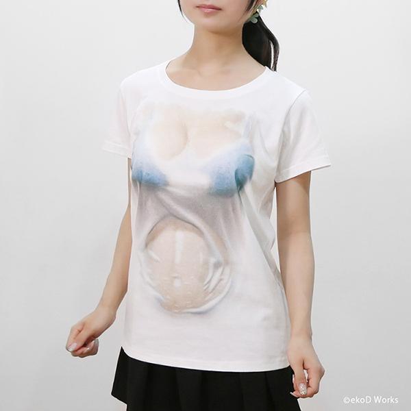 湿身透胸T恤(八)
