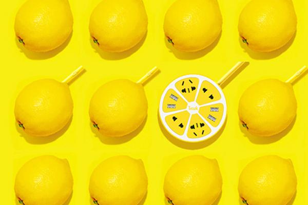 柠檬创意插座(四)
