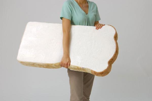 吐司折叠坐垫