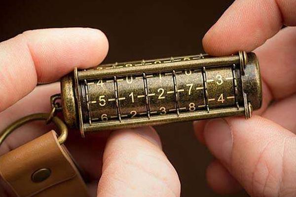 密码锁金属U盘(二)