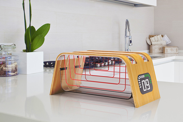 Bamboo Glass Toaster 面包机