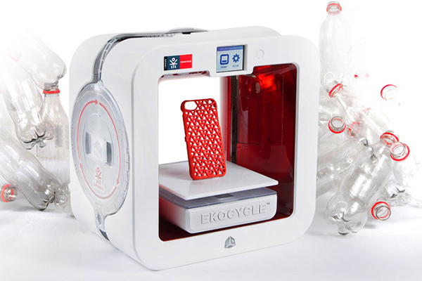 Ekocycle Cube 3D打印机(三)