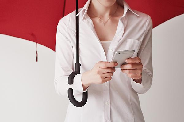 Phone-Brella 雨伞