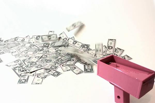 Cash Cannon 发钱机器