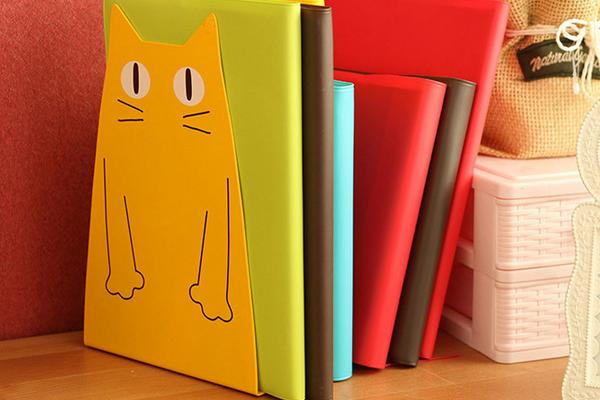 卡通猫书挡书架(三)