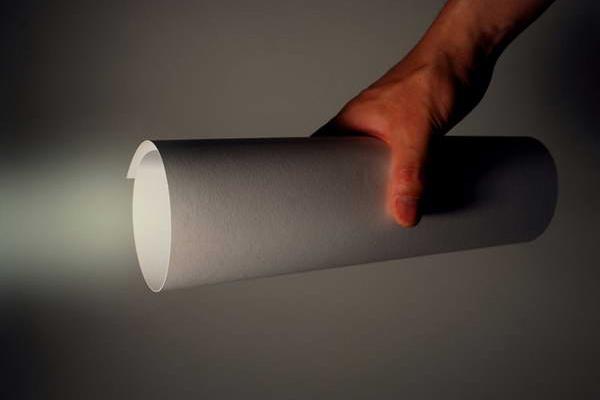 纸制LED手电筒