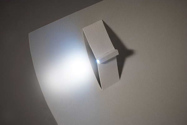纸制LED手电筒(二)