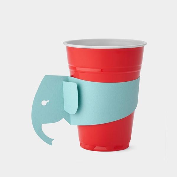 创意设计纸杯柄