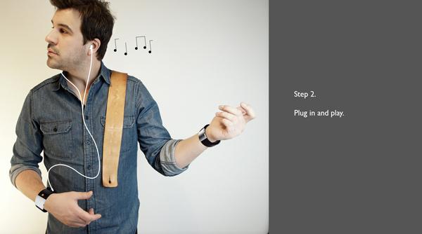 SoundBrace 手腕吉它(三)