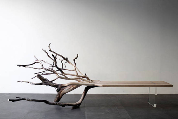 Fallen Tree 树状长椅