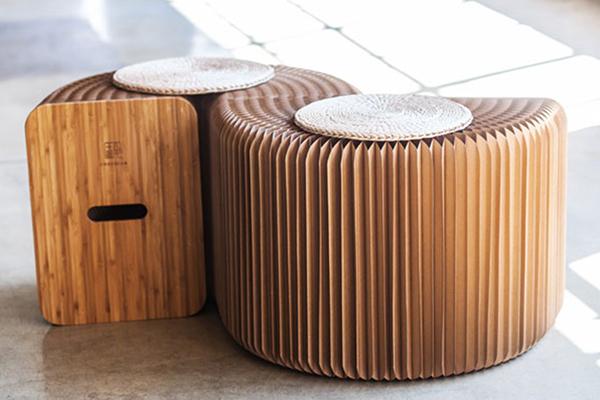 折叠家具的那种把创意塞满整个房间的美