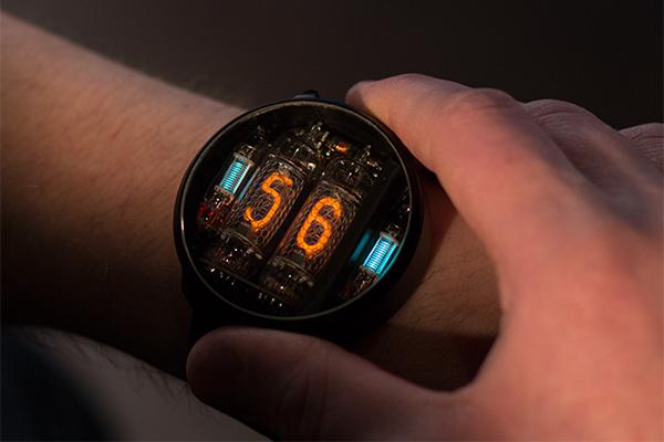 NIWA 辉光管氖气手表