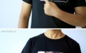 iPhone解锁滑块 创意T恤