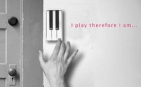 钢琴门铃 让客人弹个曲子