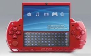 有键盘电话和摄像头的PSP