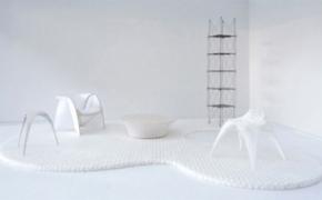 可持续原材料制造的房间