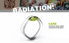 孕妇用环境辐射报警手镯