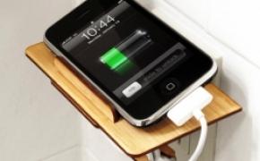 精美设计的iPhone充电底座