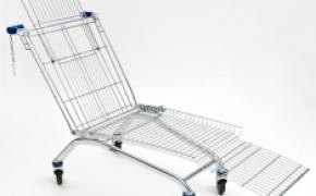 购物车椅子 超市族的福利