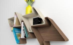 可以自定义模块组合的书架