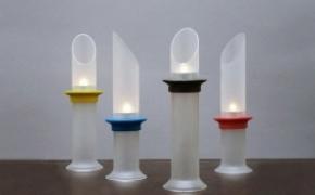 充满浪漫气息的磁铁烛台